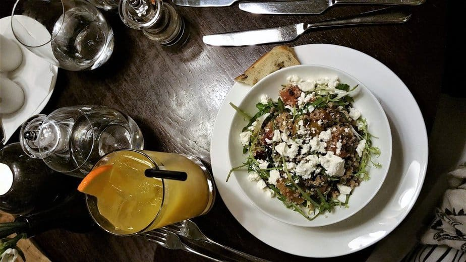 Heritage Beetroot, Lentils, Butternut Squash, Quinoa and Feta Salad - Arch London - motherhooddiaries