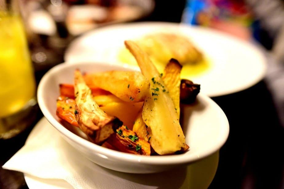 Roasted parsnips - Arch London - motherhooddiaries