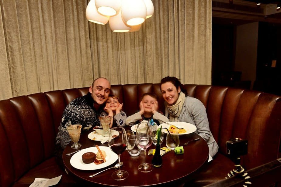 Family picture - Hunter 486 - Arch London Hotel - motherhooddiaries
