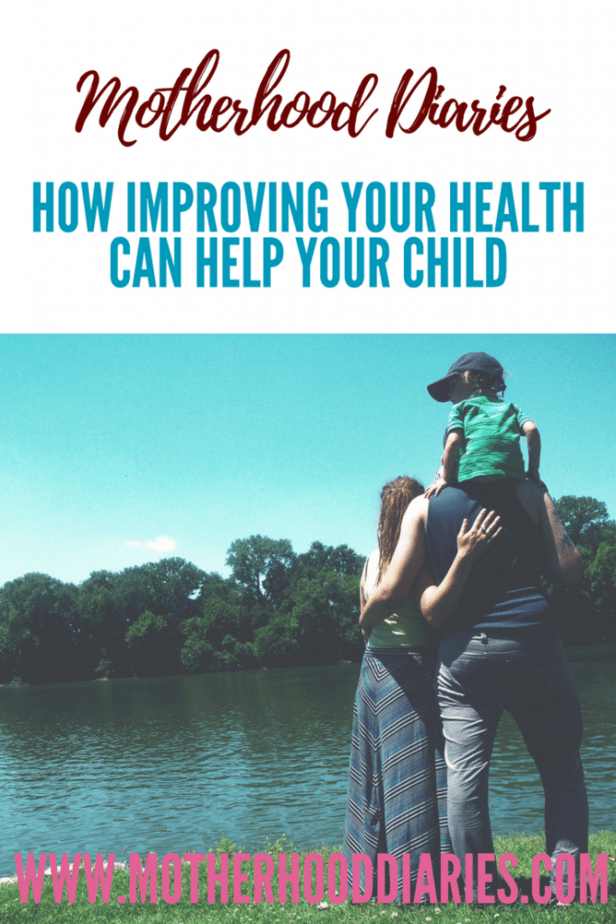 How to keep yourself healthy and benefit your children too #healthyliving #protectyourchildren #exercise #healthbenefits #familyhealth
