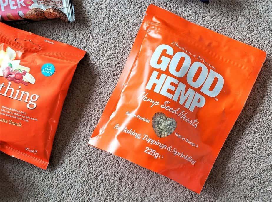 Good Hemp Seed Hearts - April 2017 Degustabox Product Review - motherhooddiaries
