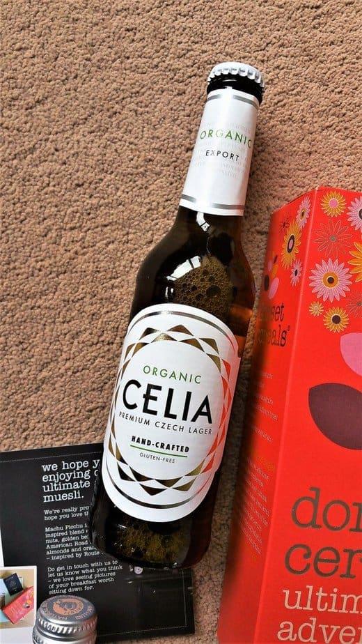 CELIA Organic Lager - April 2017 Degustabox Product Review - motherhooddiaries