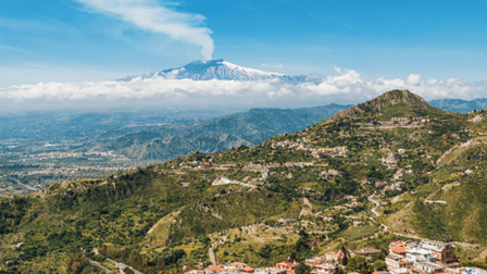 The biggest active volcano in Europe - Mount Etna - 5 reasons why you should holiday in Sicily with the family this year - motherhooddiaries