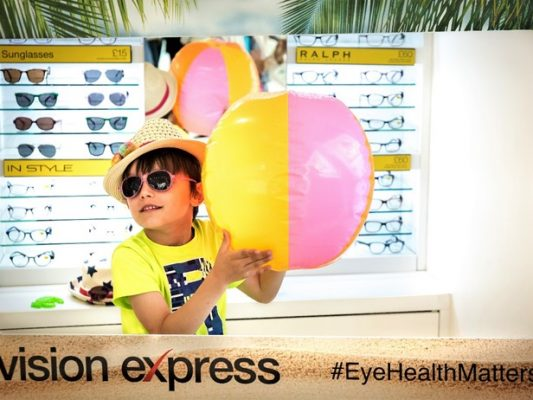 Protect your children's eyes this summer with Vision Express' new range of kids' sunglasses - motherhooddiaries
