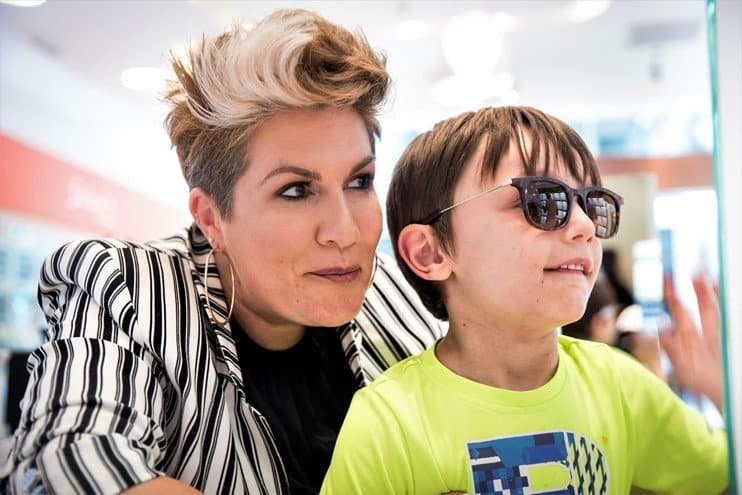 Gemma Sheppard consultation Vision Express sunglasses - Protect your children's eyes this summer with Vision Express' new range of kids' sunglasses - motherhooddiaries