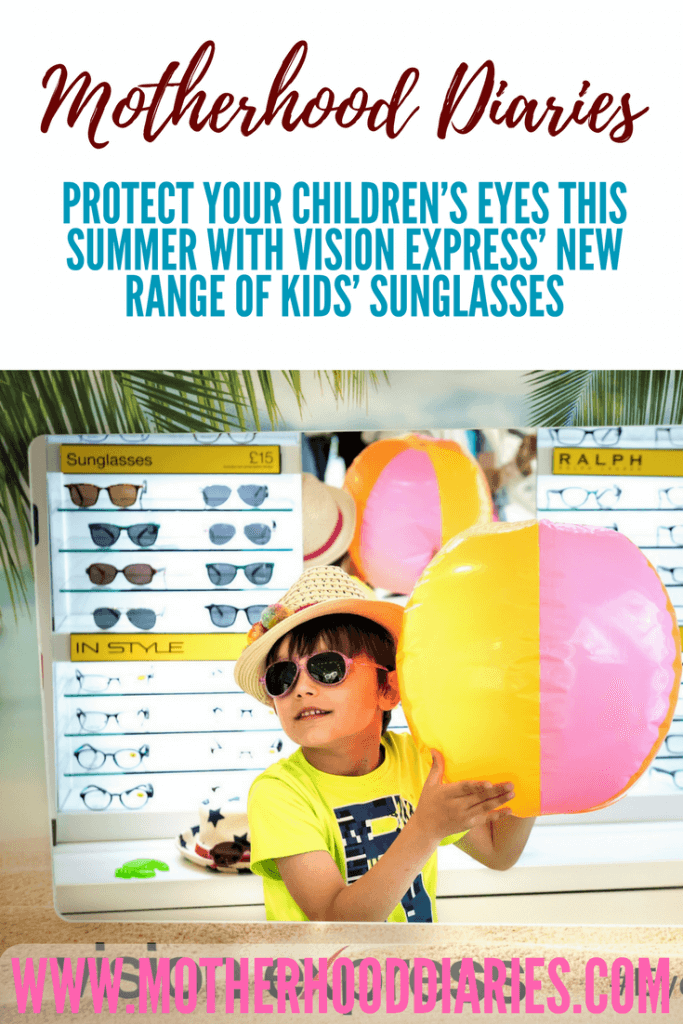 64ec0ffd5b6 Protect your children s eyes this summer with Vision Express  new range of  kids  sunglasses