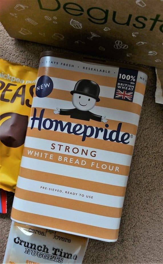 Homepride strong white bread flour - May 2017's Picnic Degustabox - motherhooddiaries