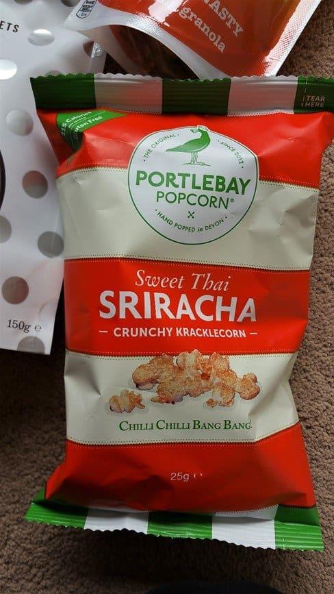 Portlebay popcorn - May 2017's Picnic Degustabox - motherhooddiaries