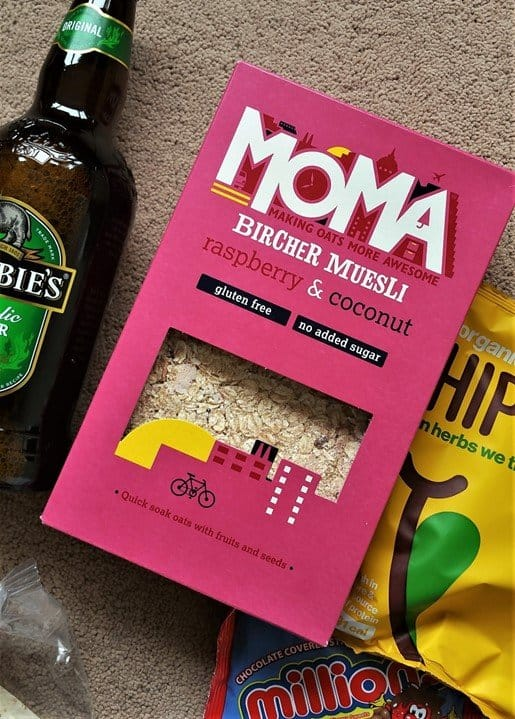 Moma Foods Bircher Muesli - May 2017's Picnic Degustabox - motherhooddiaries
