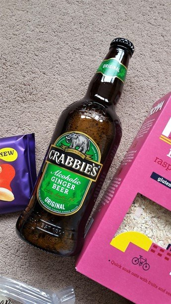 Crabbie's original alcoholic ginger beer - May 2017's Picnic Degustabox - motherhooddiaries