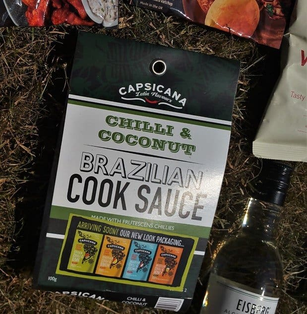 Capiscana Chilli & Coconut Brazilian Cook Sauce - June BBQ Degustabox - motherhooddiaries