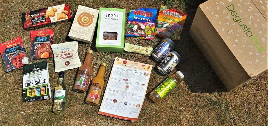 June 2017's BBQ themed Degustabox - motherhooddiaries