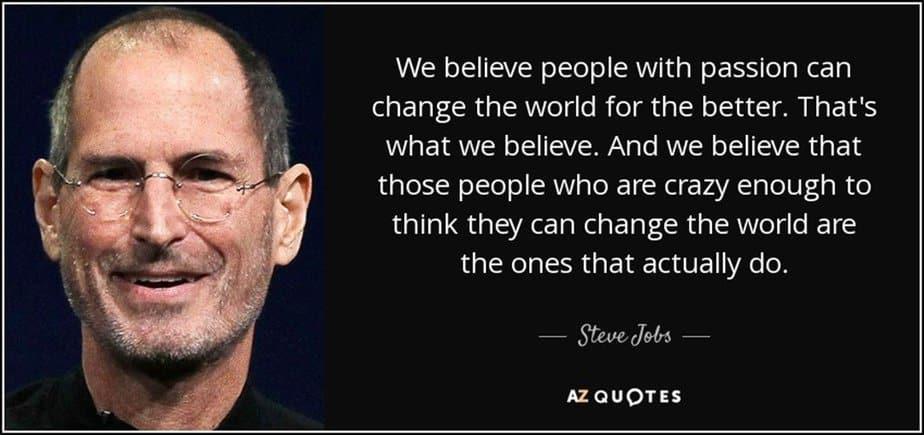 Steve Jobs quote - motherhooddiaries