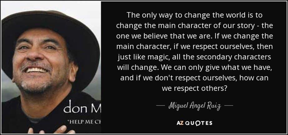Miguel Angel Ruiz quote - motherhooddiaries