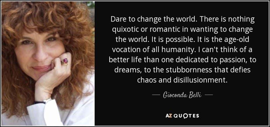 Gioconda Belli Quote - motherhooddiaries
