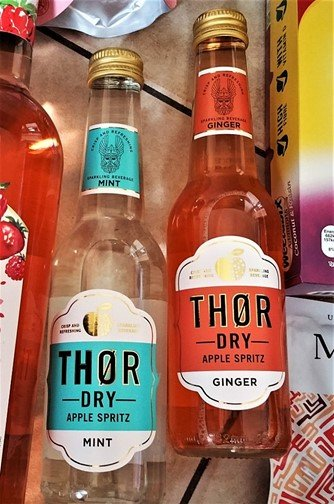 Thor Dry Apple Spritz - July 2017 Summer Degustabox Review - motherhooddiaries