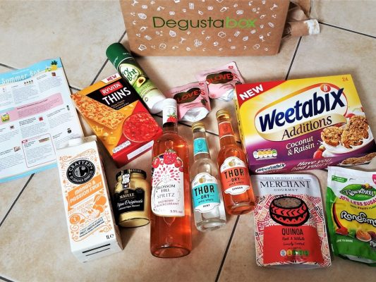 July 2017 Summer Degustabox - motherhooddiaries