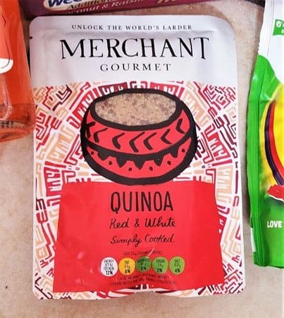 Merchant Gourmet Simply Cooked Quinoa - July 2017 Summer Degustabox Review - motherhooddiaries