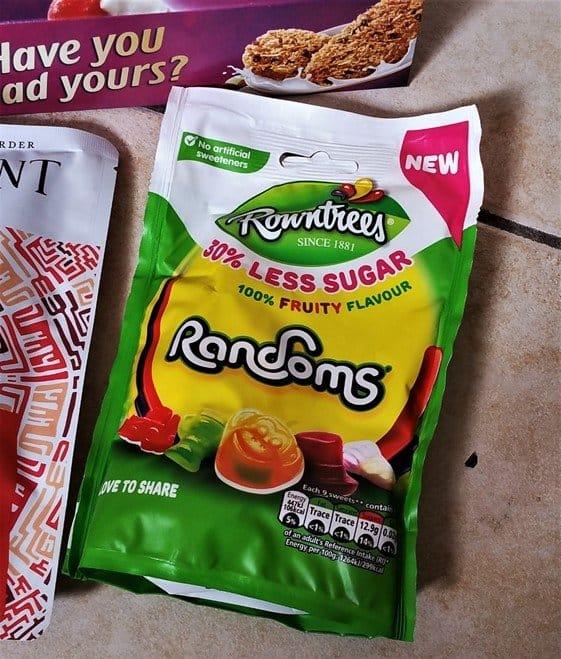 Rowntree's Randoms 30% Less Sugar - July 2017 Summer Degustabox Review - motherhooddiaries