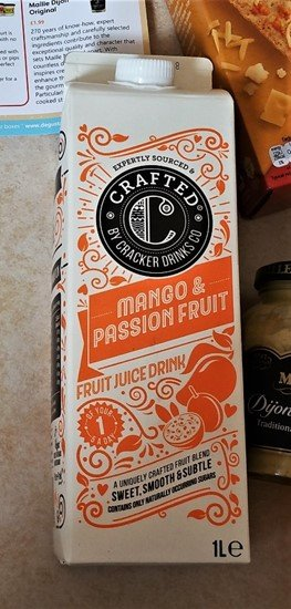 Crafted Mango & Passionfruit - July 2017 Summer Degustabox Review - motherhooddiaries