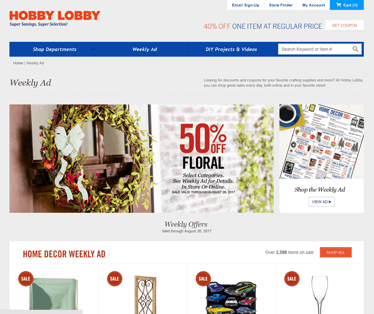 How To Shop Smart And Save Online With Hobby Lobby S Discount Codes