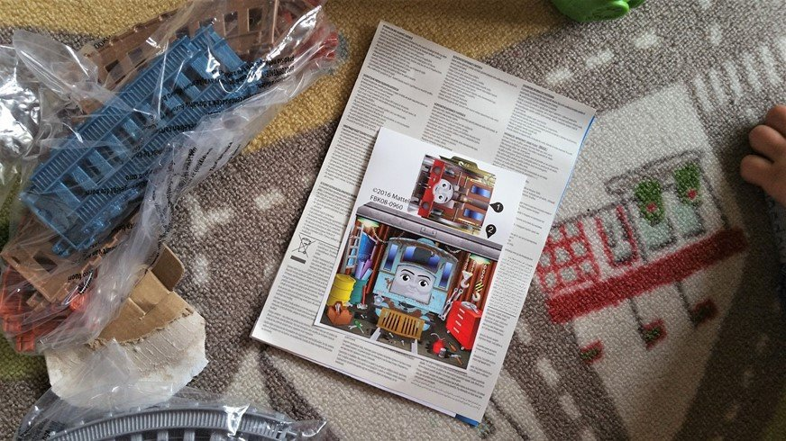 Leaflet - Why kids love Thomas & Friends Trackmaster Playsets - motherhooddiaries