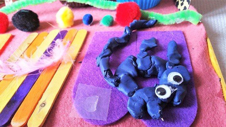 The family pet rat - Craft Merrily Easy Halloween Monster House - motherhooddiaries
