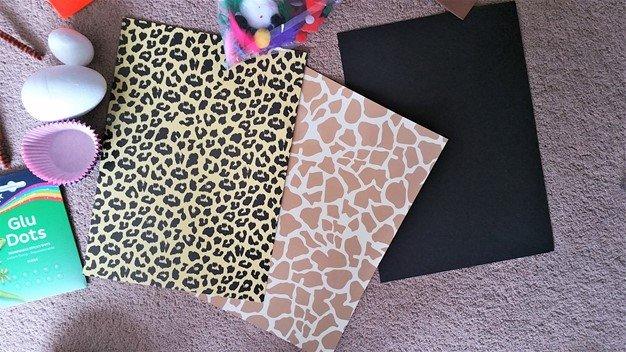 3 pieces of A4 Card - Craft Merrily Halloween Monster House - motherhooddiaries