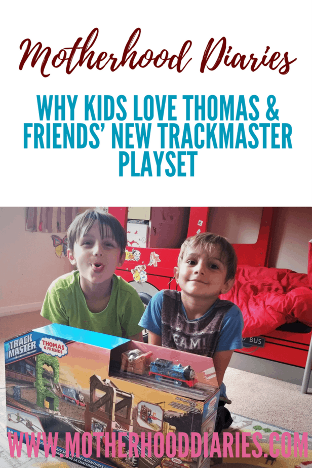 Why kids love Thomas & Friends' new Trackmaster Playset - motherhooddiaries.com