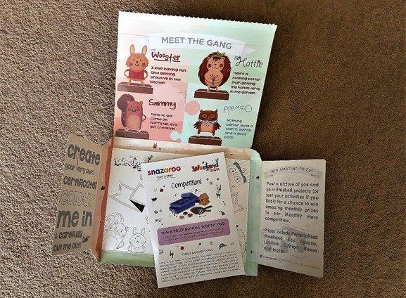 Weekend Box Packaging - inside