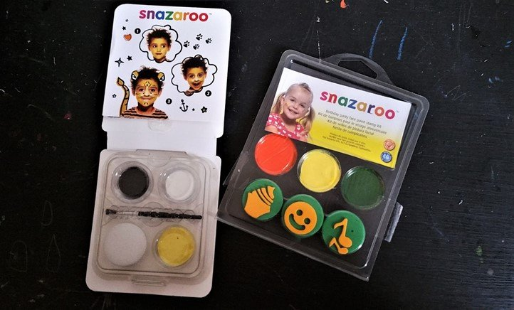 Snazaroo Face Paints - motherhooddiaries