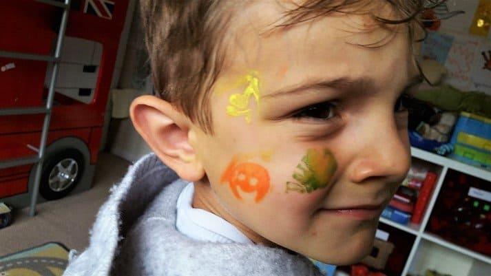 Snazaroo face stamps - motherhooddiaries