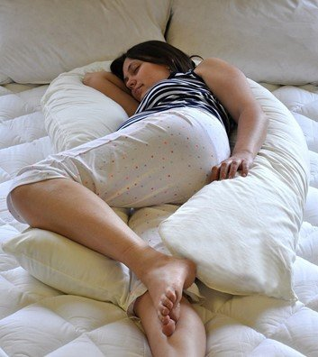 Superior Unique Total Body U Shaped Pregnancy Pillow, Bedding Direct UK