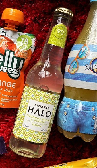 August 2017 Degustabox Review - Twisted Halo Coconut Water & Ginger Vodka