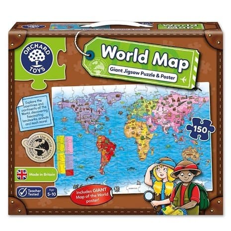 Orchard Toys World Map and Poster