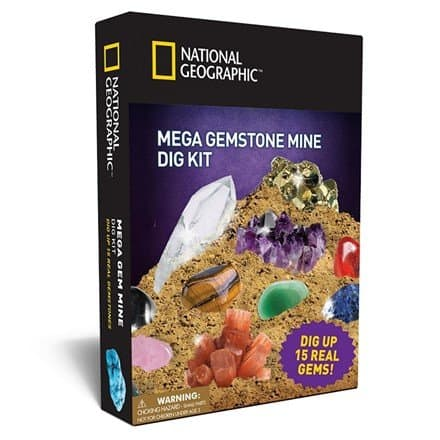 National Geographic Mega Gemstone Mine Dig Kit