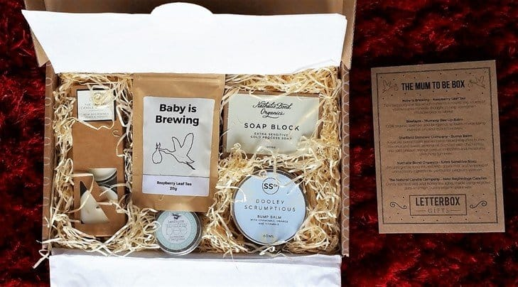 Mum to Be Gift Set from Letterbox Gifts