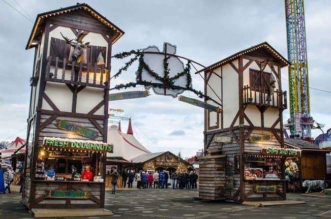 Winter Wonderland is free to visit