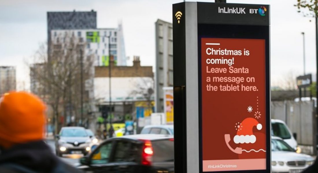 Call Santa directly with InLinksUK BT