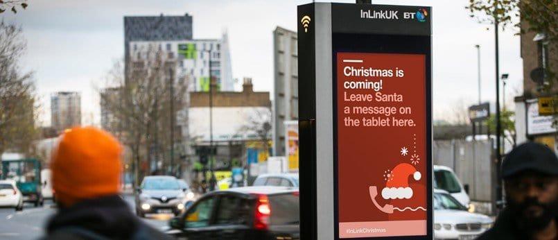 Call Santa directly with InLinksUK BT