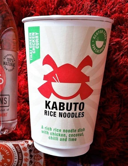 Kabuto Thai Green Chicken Curry Noodles