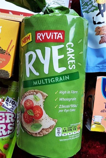 Ryvita Multigrain Rye Cakes