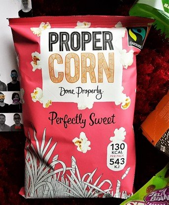 PROPERCORN Perfectly Sweet Popcorn