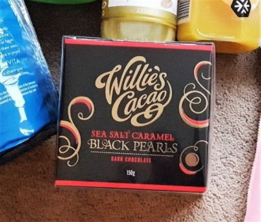 Willie's Cacao Black Pearls