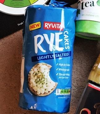 Ryvita Lightly Salted Rye Cakes
