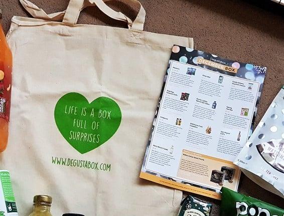 Degustabox 2017 Review Canvas Bag
