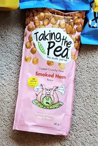 Taking the Pea Snacks