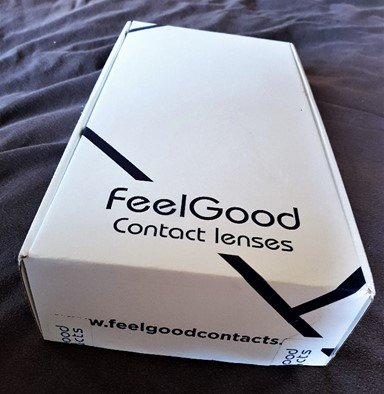 Feel Good Contacts' delivery service and products