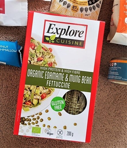 Explore Cuisine – Organic Edamame & Mung Bean Fettuccine