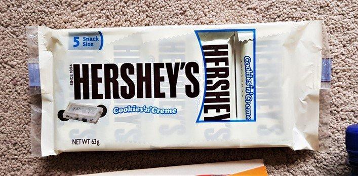 Hershey's Cookies 'n' Crème 5 Pack Snack Pack